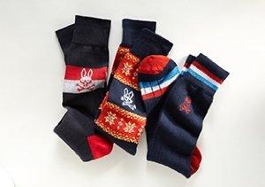 New + Notable: Psycho Bunny Socks