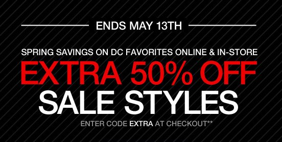 Extra 50% Off Sale Styles - Enter code EXTRA at checkout**
