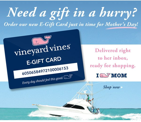 Vineyard Vines: Our new E-Gift Card is here!   Milled