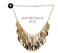 Shop Leaf Statement Necklace