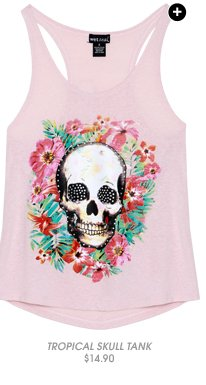 Shop Tropical Skull Tank