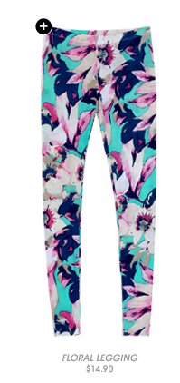 Shop Floral Legging