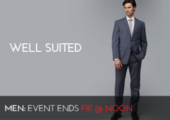 WELL SUITED - MEN