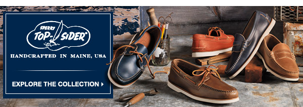 HANDCRAFTED IN MAINE | EXPLORE THE COLLECTION >