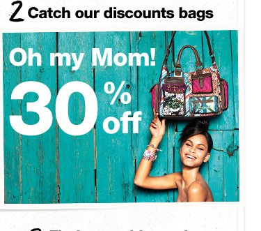Catch our discounts bags