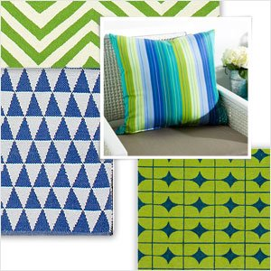 Spend Summer Outside: Colorful Patio Accents