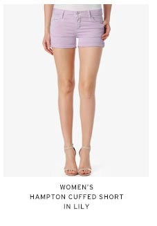 Women's Cuffed Short in Lily