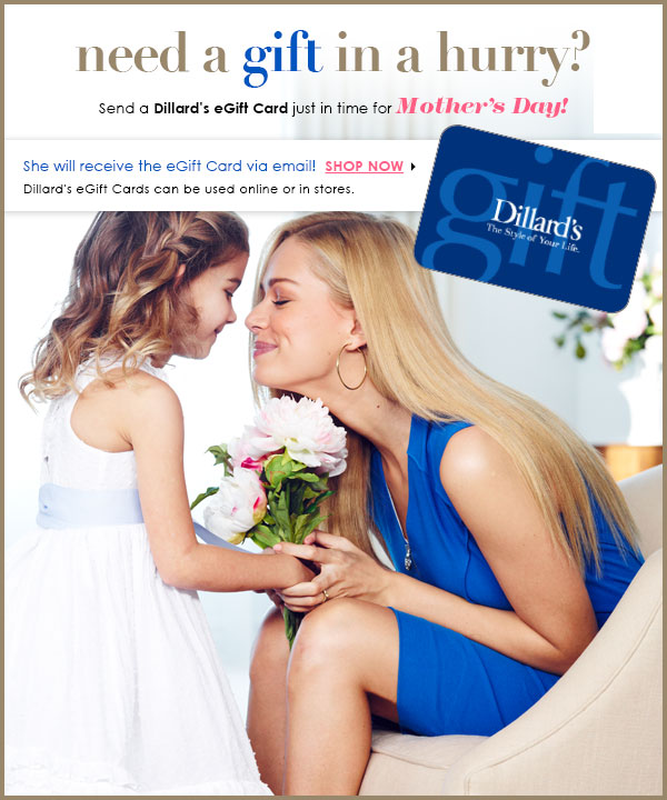 Need a gift in a hurry? Mother's Day is Sunday!