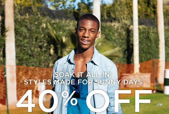 Soak It All In! | Styles Made For Sunny Days | 40% Off*