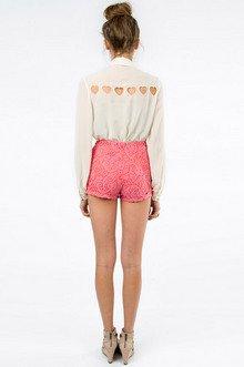 Lolita Lace Overlay Shorts $29