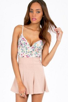 Floral Cup Bustier $28