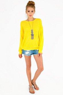 Waffle Knit Sweater $35