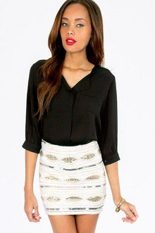 Naya Pocket Blouse $29