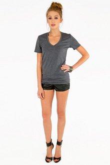 Basic V-Neck T-Shirt $19