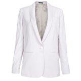 Light Grey Shawl Collar Jacket