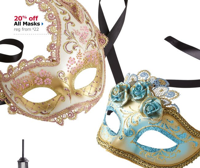20% off All Masks