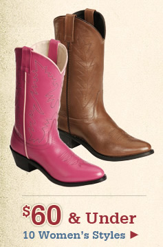 All Womens Boots Under 60 on Sale