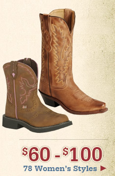 All Womens Boots $60-$100