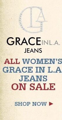 Womens Grace in LA Jeans on Sale