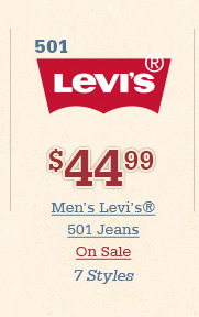 All Mens Levi 501 Jeans on Sale