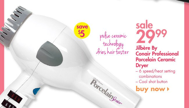 Jilbere Porcelain Series Hair Dryer