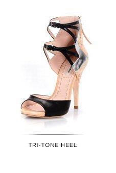 Tri-Tone Heel