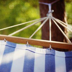 For Summer Siestas: Bright Backyard Hammocks