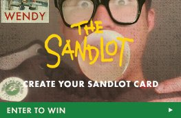 Create Your Sandlot Card - Enter to Win