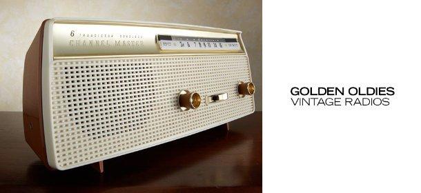 GOLDEN OLDIES: VINTAGE RADIOS, Event Ends May 15, 9:00 AM PT >