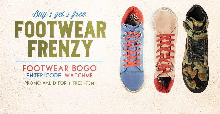 Footwear Frenzy