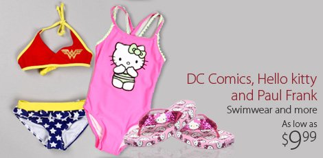 DC Comics, Hello Kitty and more