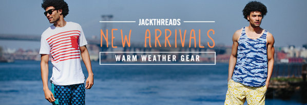 Shop New Arrivals: Warm-Weather Gear