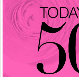 Last Day to take 50% off EVERYTHING! Shop Now!