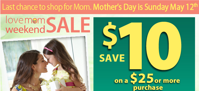 Save with Bealls Florida Love Mom Weekend Sale