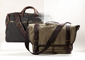 Best Bags: Canvas & Leather Edition