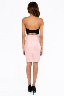 Mae Vegan Pencil Skirt $30