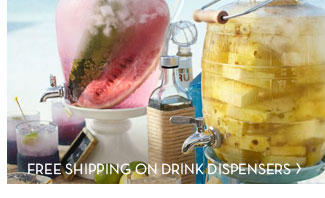 FREE SHIPPING ON DRINK DISPENSERS