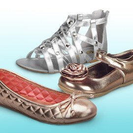 Gold & Silver Shoes Collection