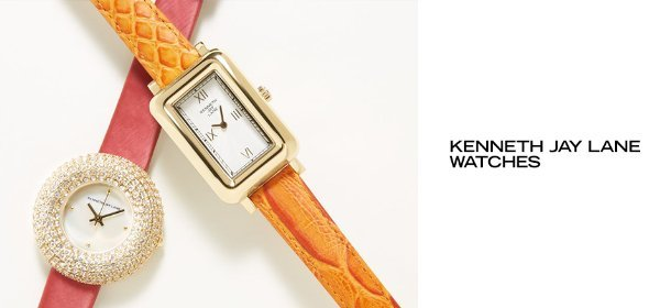 KENNETH JAY LANE WATCHES, Event Ends May 15, 9:00 AM PT >