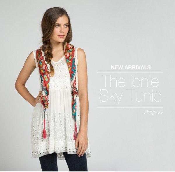 Ionie Sky Tunic