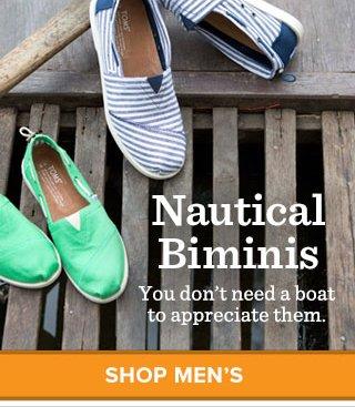 Shop Men's Nautical Biminis