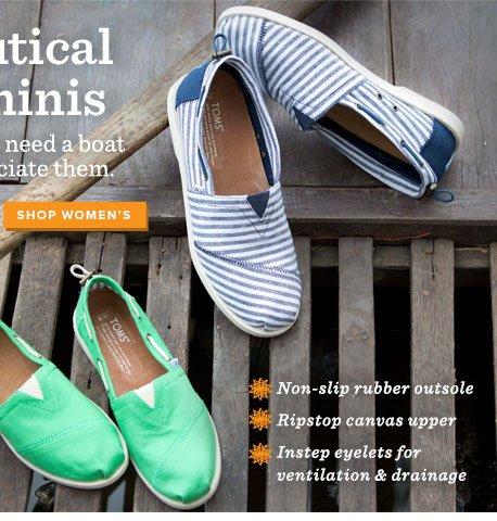 Shop Women's Nautical Biminis