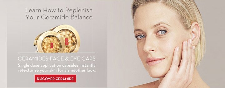 Learn How to Replenish Your Ceramide Balance. CERAMIDES FACE & EYE CAPS. Single dose applications capsules instantly retexturize your skin for a smoother look. DISCOVER CERAMIDE.