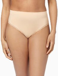 Nude,White,Black Light Control Seamless Shaping Brief