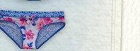 Pink floral undie
