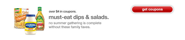 Must-eat dips & salads