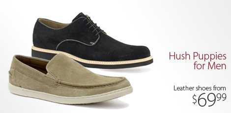 Hush Puppies for Men