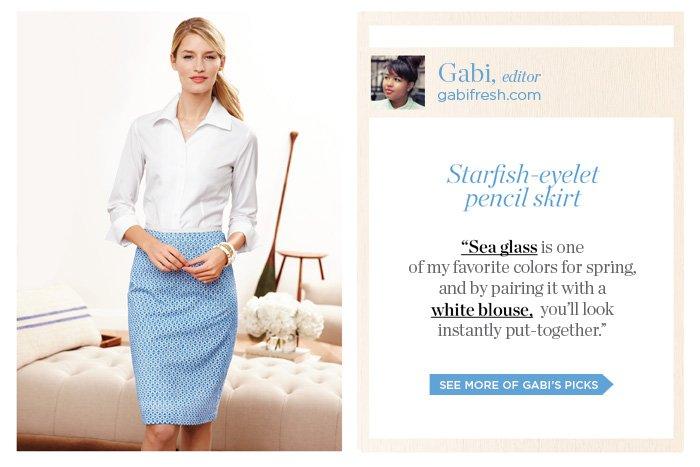 Gabi, editor of gabifresh.com, shares her picks. See more of Gabi's picks.