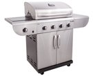 Commercial 4-Burner Liquid Propane and Natural Gas Grill