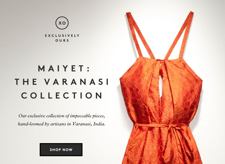 Clothes with a conscience: Shop the Varanasi collection by Maiyet.
